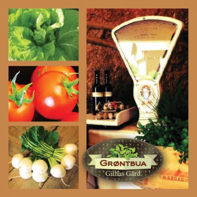 Et lite knippe av våre ferske og frodige produkter fra Grøntbua