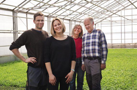 Knut-Andreas, Ragne Helene, Kirsten og Hans Bernhard